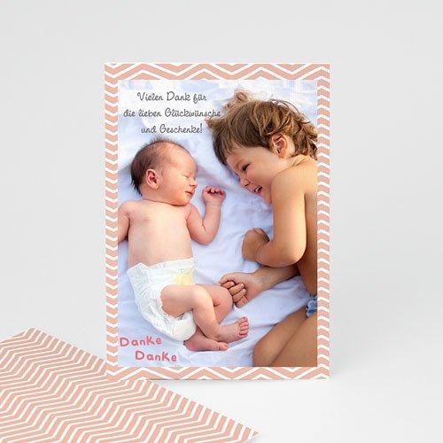Dankeskarten Geburt Jungen - Grosser Bruder 41186