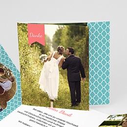 Danksagungskarten Hochzeit  - 1001 Nacht - 0