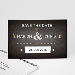 Save The Date  - Tafeldesign - 0