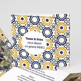 Danksagungskarten Hochzeit  - Azulejo - 0
