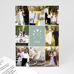 Danksagungskarten Hochzeit  - Prachtvoll - 0