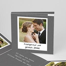 Danksagungskarten Hochzeit  - Fotoroman - 0