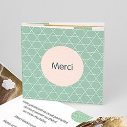 Danksagungskarten Hochzeit  - Pünktchen - 0