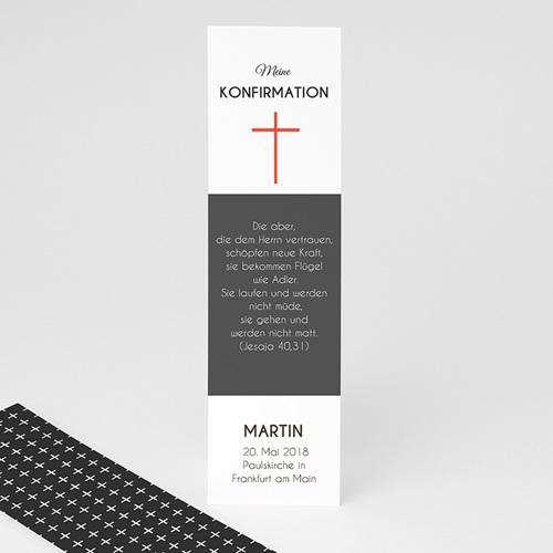 Lesezeichen - Modernes Kreuz 42712