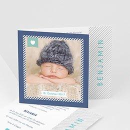 Babykarten für Jungen - Ich bin da! - 0
