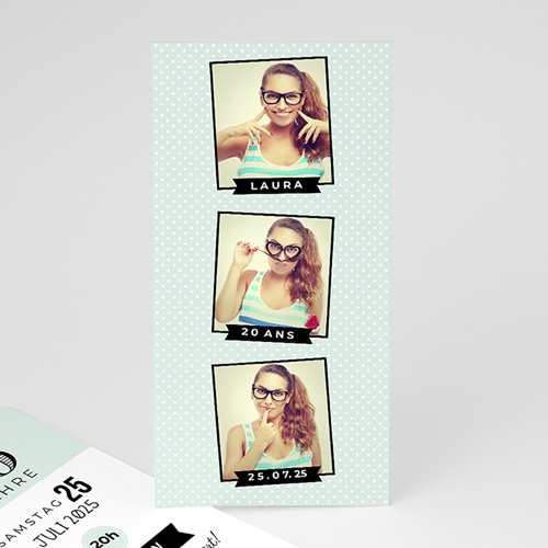 Runde Geburtstage - Serie Fotoautomat 42732