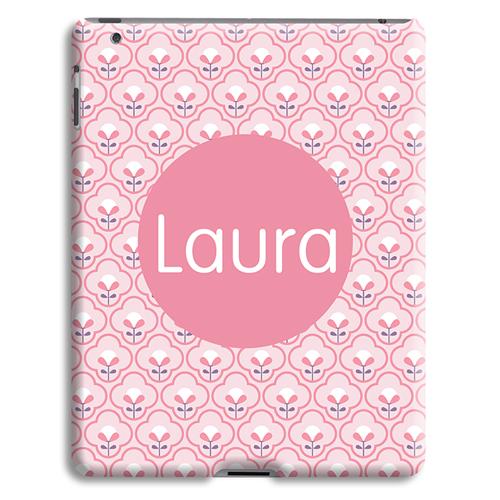 Case iPad 2 - Rosa Tapetenmuster 42877