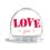 Glitzerkugel - Pink Love 42925 thumb