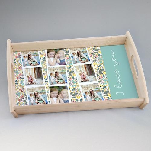 Foto-Tablett  - Wiese & Blumen  42934