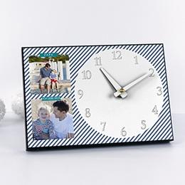 Fotouhr  20 x 14 cm - Papas Uhr - 0