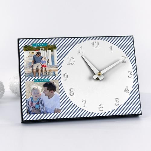 Fotouhr  20 x 14 cm - Papas Uhr 42957