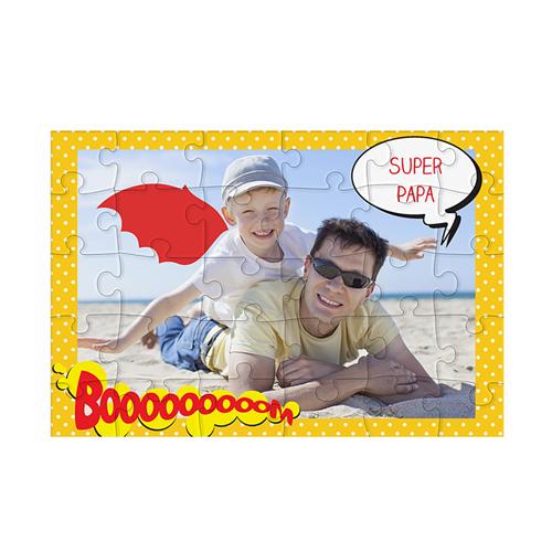 Fotopuzzle - Holz - Puzzle Papa 42961
