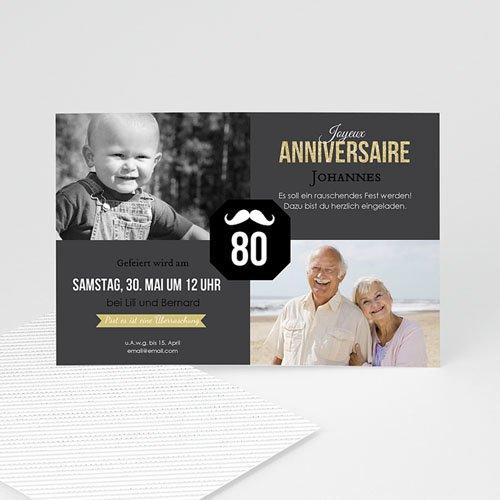 Runde Geburtstage - 80 Jahr jung 43035