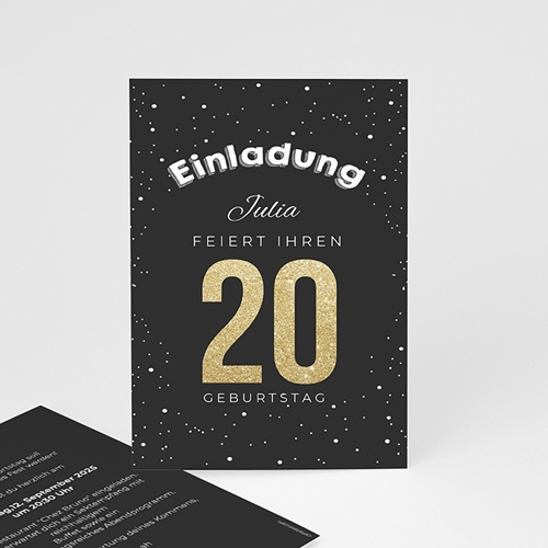 Runde Geburtstage - Goldene 20 43053