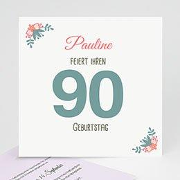 Runde Geburtstage - 90 blühende Lebensjahre - 0