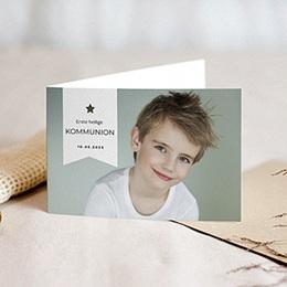 Einladungskarten Kommunion Jungen - Modern & Design - 0