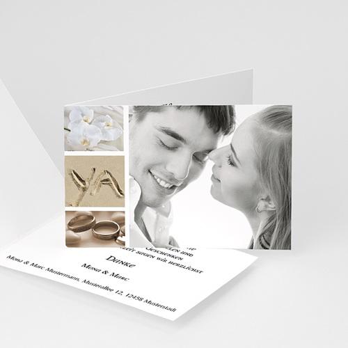 Hochzeitseinladungen modern - Hochzietskarte Miniaturfotos 4336