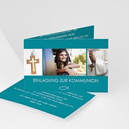 Einladungskarten Kommunion Jungen - Spirituell - 0