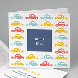 Babykarten für Jungen - Auto - 0