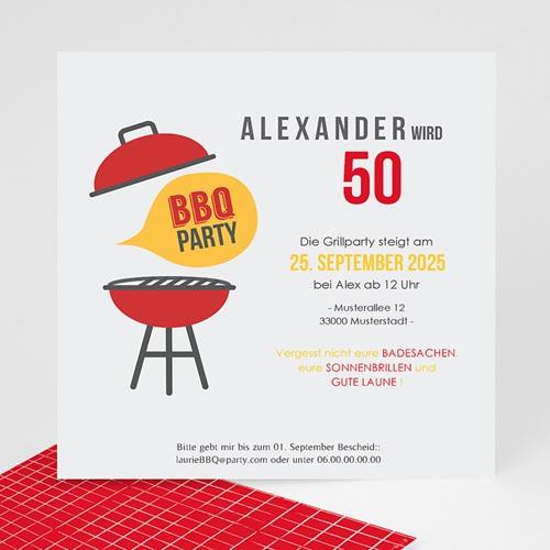 Runde Geburtstage - BBQ Party 43589