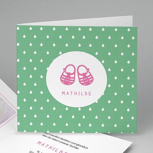 Geburtskarten für Mädchen - Sommer und Strand 43622