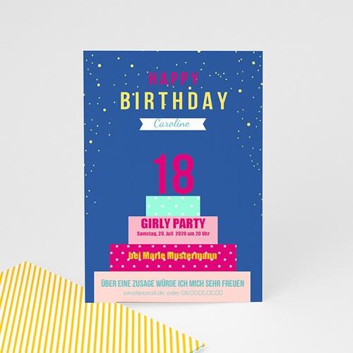 Runde Geburtstage - Geburtstagskuchen 43680