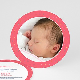 Geburtskarten für Mädchen - Unser Herzchen - 0