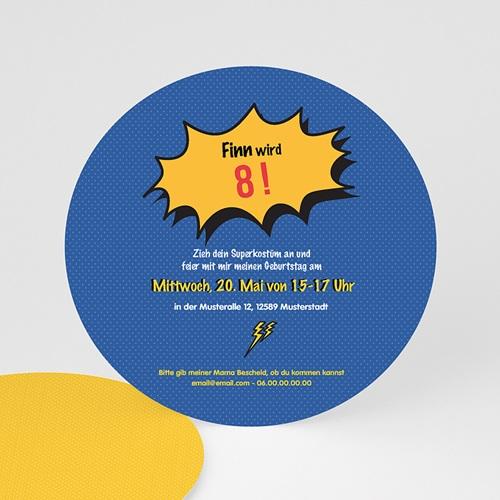 Geburtstagseinladungen Jungen - Super Geburtstag 44252