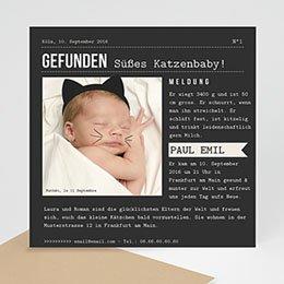 Babykarten für Jungen - Kätzchen - 0