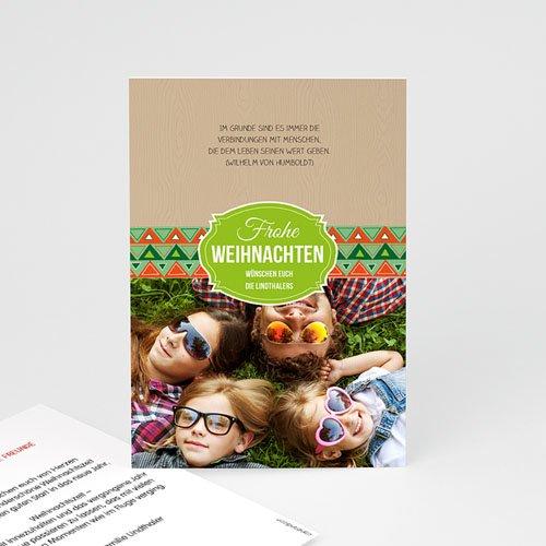 Weihnachtskarten - Weichnachtlich 44418