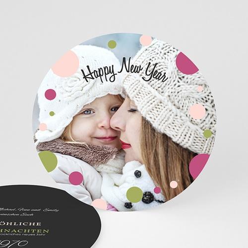 Weihnachtskarten - Glamour und Glitter 44457