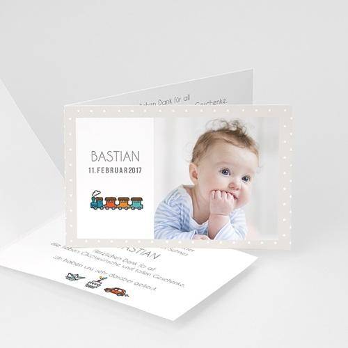 Babykarten für Jungen - Eisenbahn 44581