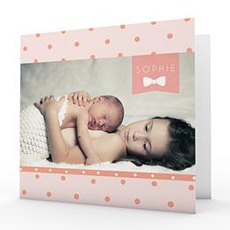 Geburtskarten für Mädchen - Süsse Träume - 0