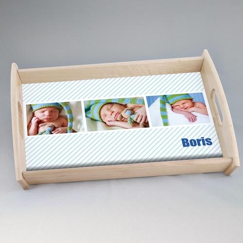 Foto-Tablett  - Babykarte Melvin 44776