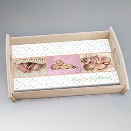 Foto-Tablett  - Babykarte Ariane - 0