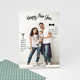 Weihnachtskarten - A Happy New Year - 0