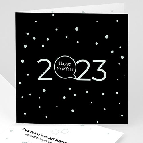 Weihnachtskarten - Goldenes Jahr 44872