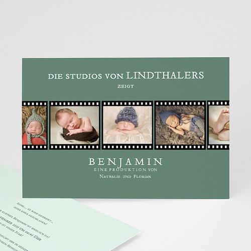 Babykarten für Jungen - Kino Filmstreifen 44927