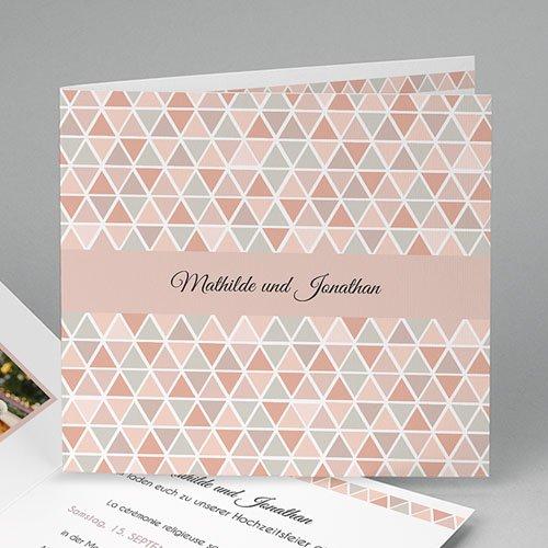 Hochzeitseinladungen modern - Motif Nude 44980