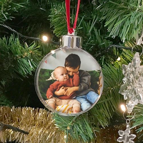 Weihnachtskugel - Ich liebe Oma und Opa 45173