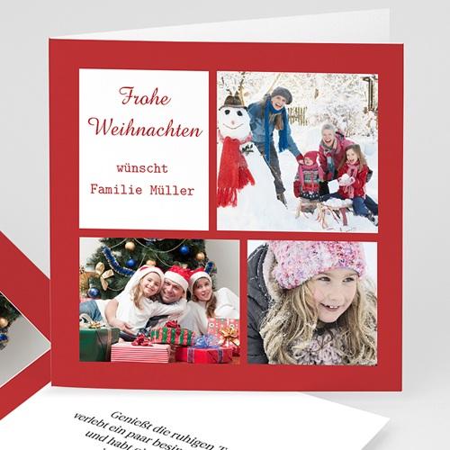 Weihnachtskarten - Aquarell 45197