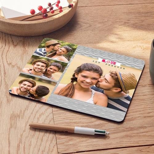 Foto-Mousepad - Rosa Wolke 45540