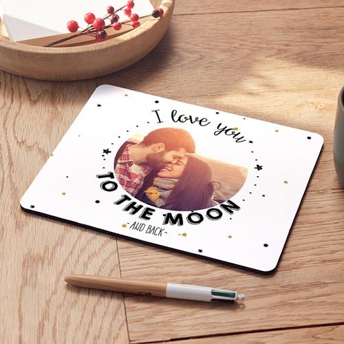 Foto-Mousepad - Bis zum Mond und wieder zurück 45561