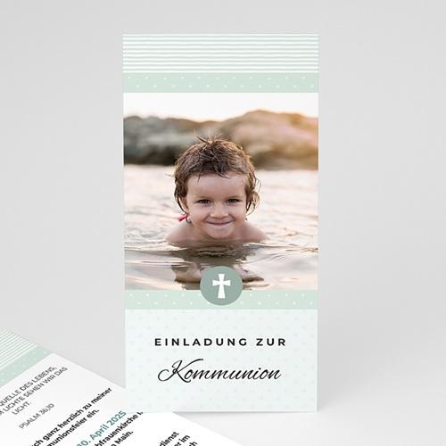 Einladungskarten Kommunion Jungen - Pauline 45859