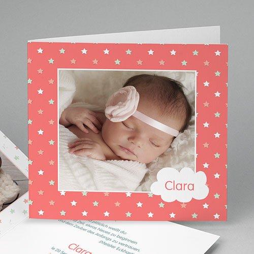 Geburtskarten für Mädchen - Sternenhimmel 46479