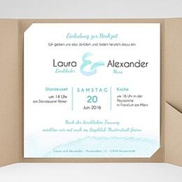 Hochzeitskarten Quadratisch - Aquae Sextiae - 0