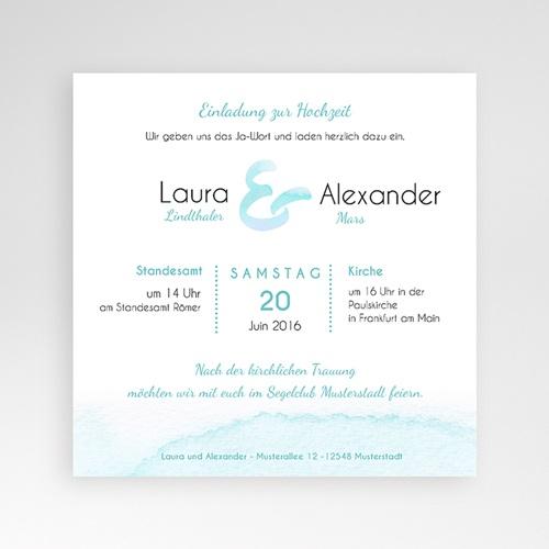 Hochzeitskarten Quadratisch - Aquae Sextiae 46833