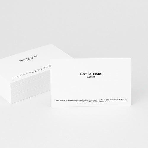 Visitenkarten - Klassisch 4706