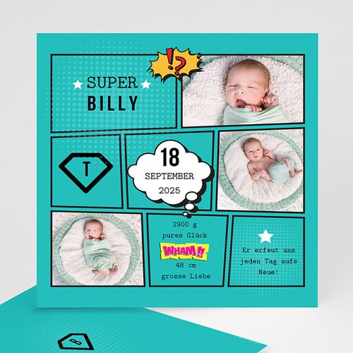 Babykarten für Jungen - Super Boy 47078