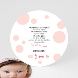 Babykarten für Jungen - Wer bin ich? - 0